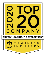 2020 Top 20 Custom Content Development