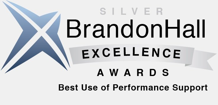 Brandon Hall Excellence Awards - Best Use of Performance Support