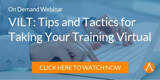 Watch the On-Demand Webinar: VILT: Tips and Tactics for Taking Your Training