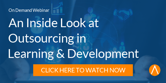 Watch the Webinar: An Inside Look at Outsourcing in Learning & Development
