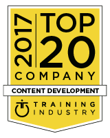 Caveo Named to Training Industry's Top Content Development List