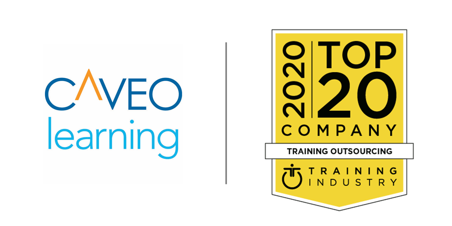 Caveo Named to 2020 Training Industry Top 20 Outsourcing Companies List
